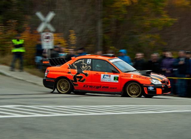 Crazy Leo - Rallye de Charlevoix 2011