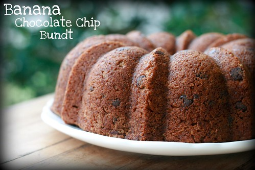 Banana Chocolate Chip - I Like Big Bundts 2011