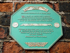 Photo of Green plaque number 8070
