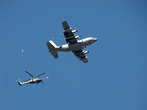 HH-60 being refueled by a C-130 by CharlesRay2010