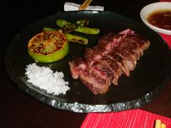 Teppanyaki de Buey Wagyu