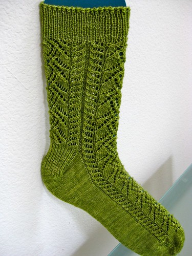 Crocus Socks- Done