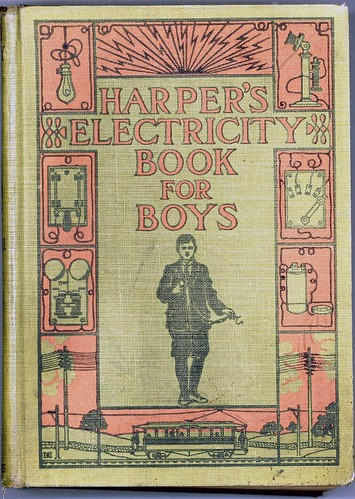 Harper's Electricity book for boys