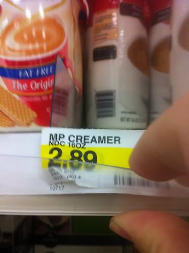 COFFEE CREAMER A