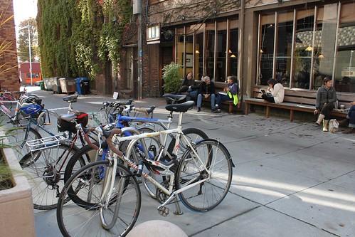 Cafe Allegro Alley scene