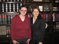 Karolina Szydlowska met with an interviewed Rep. Rebimbas for a class project.