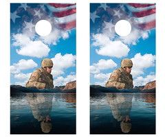 US Soldier Cornhole Boards