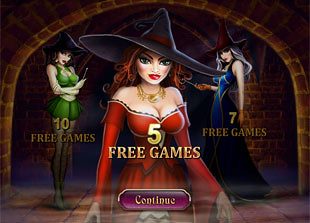 free Halloween Fortune slot bonus