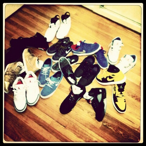 His collection <3