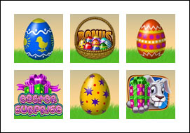free Easter Surprise slot game symbols