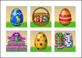 free Easter Surprise slot game symbols