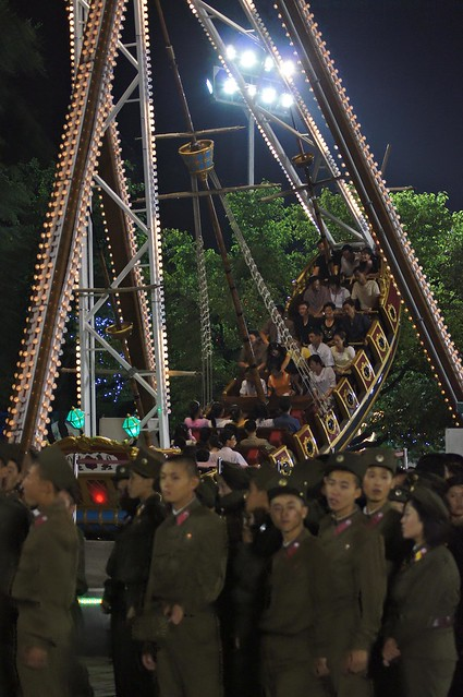 North Korean Soldiers and the Pirate Ship