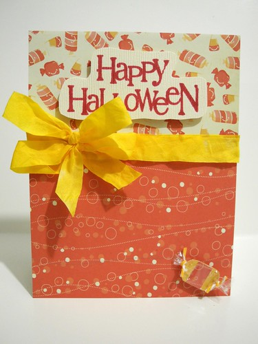 Happy Halloween Candy Card