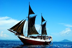 S.M.Y. Ondina (Ste_Nikon) Tags: indonesia guinea barca mare vela papua raja nuova immersioni ondina ampat
