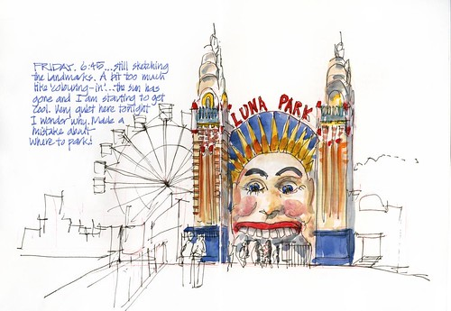 111928 Luna Park- Just for fun