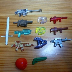 """Thanks Baaa ! (prizes for """"The Lego Star Wars Everything Contest"""" ) (N-11 Ordo) Tags: mystery 1 pack vol ordo n11 brickarms n11ordo baaa"""