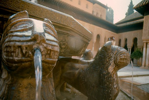 Lion Fountain detail