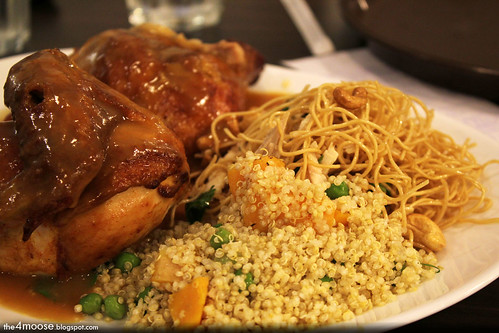 The Rotisserie - Chicken and Quinoa with Asian Chicken Noodles