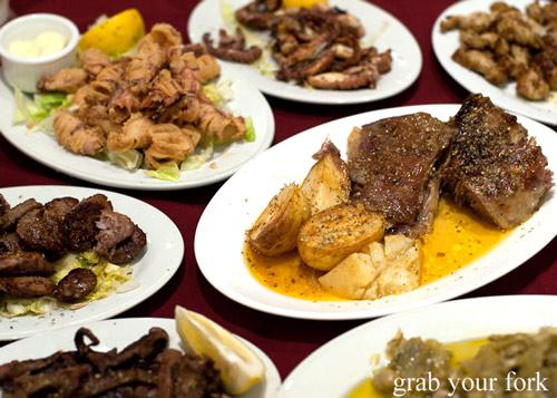 Cyprus Cypriot Club roast baby goat
