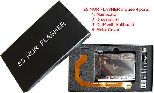 e3 nor flasher