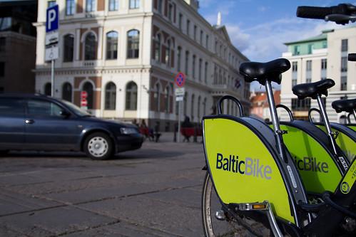 Riga, la bici anch'io prima o poi la userò