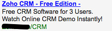 CRM Software - Ad #1
