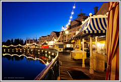 The Boardwalk (Jeff_B.) Tags: sunset sunrise florida blues games disney disneyworld boardwalk capemay waltdisneyworld epcotcenter yachtclub beachclub boardwalkresort epcotresortarea