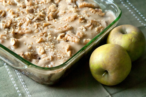 Apple Cake with Browned Butter Icing