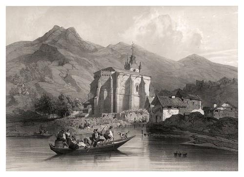 023-Nuestra Sra. Del Juncal en Irun-España artística y monumental..Tomo III- 1842-1850-Genaro Perez de Villa-Amil