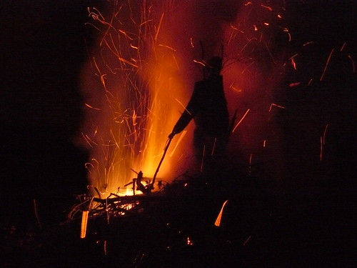 Bonfire night - Guy Fawkes burns!