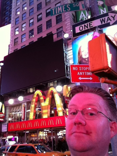 In Times Square, New York City