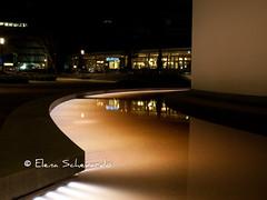 Beleuchtung hinter dem Elisenbrunnen/Lights behind the Elisenbrunnen