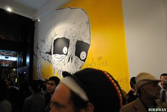 Neckface (Birdman Photos) Tags: streetart art death losangeles gallery neckface demons birdman darkart newimageart newimageartgallery birdmanphotos