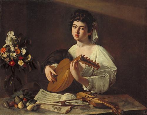 3. Tañedor de laúd, Caravaggio
