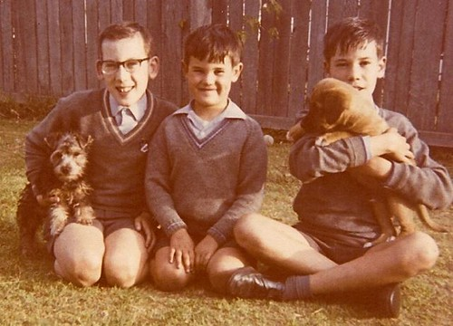 Ian, Brian, Keith, 1970