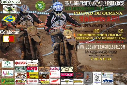 Trofeo Andaluz Enducross Los Moteros del Sur Ecologista