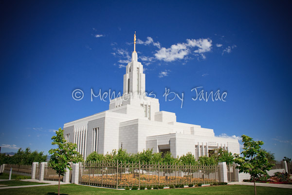 Draper Vintage LDS Temple Prints -4880