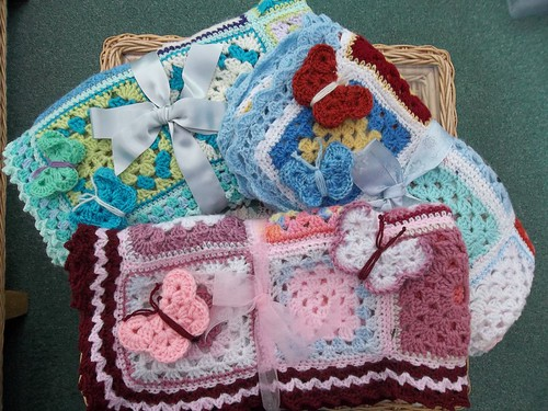 Ta - Dah's 3 of them! 111, 112, 113. Thanks to Glynis who contributed all the Squares for them.