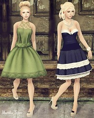 Vintage Fair 1 (Mariska / Elly) Tags: fashion mandala sl secondlife e league boon coolbeans mothergoose izzies marukin vintagefair pixelmode aphoticgloom mariskatiponi styleminions