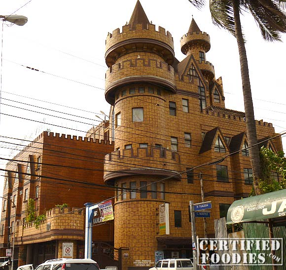 The Chocolate Lover castle store in Cubao, Quezon City