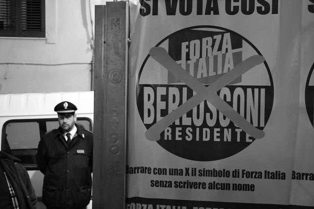Berlusconi is gone!