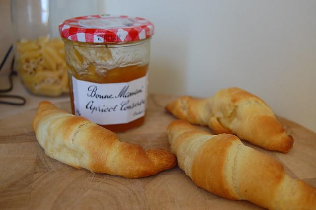 Freshly baked croissants!