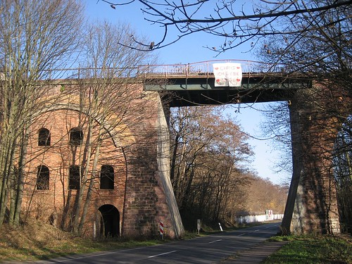Die Millionenbrücke bei Wimmelburg