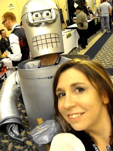 Bender & Me at Hal-Con 2011 in Halifax, Nova Scotia