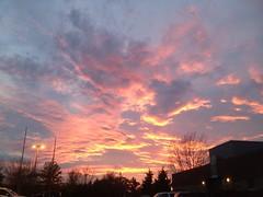 Sunset after Fire 1