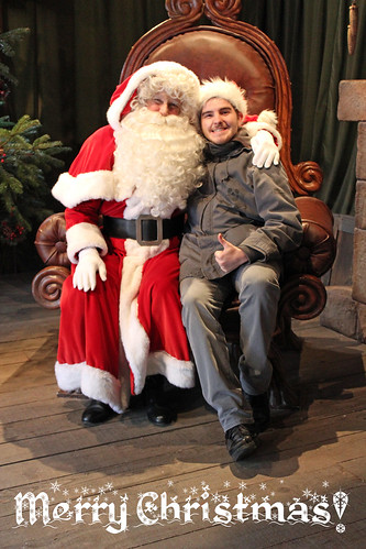 Sam and Santa