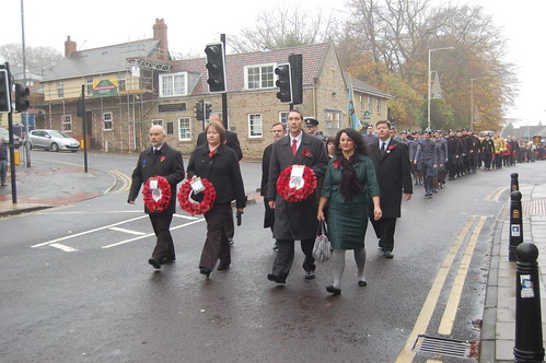 Remembrance Day Whickham Nov 11 4