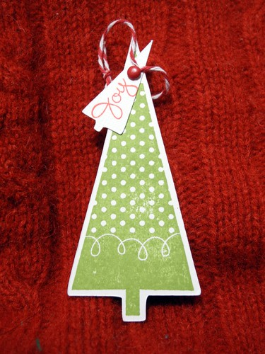 Joy Tree Tag