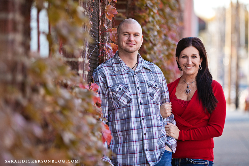 Kansas City Crossroads Art District engagement photographa