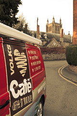 The Volks Cafe arrives in Hereford